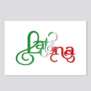 Proud to be a Latina! Postcards (Package of 8)