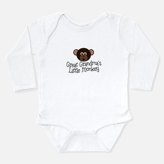 Great Grandma's Monkey Body Suit