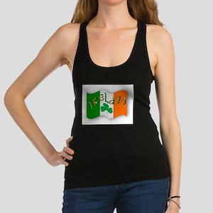 Irish Flag Racerback Tank Top