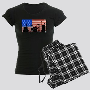 USA Rock Band Women's Dark Pajamas