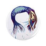 Breaching Mermaid Button