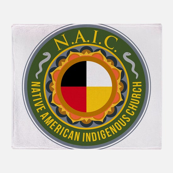 Naic Shield Throw Blanket