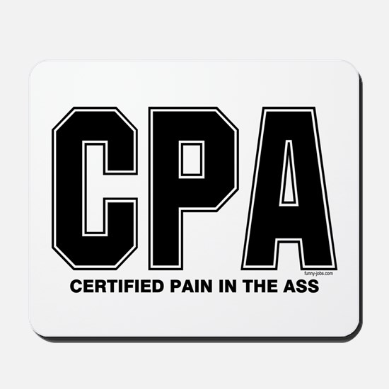CPA Pain Mousepad