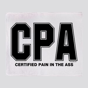 CPA Pain Throw Blanket