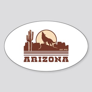 Arizona Sticker (Oval)