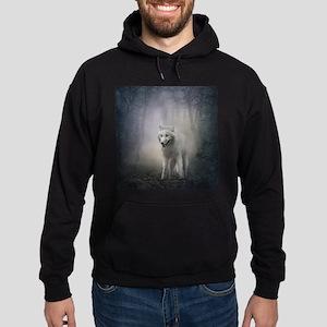 White Wolf Hoodie (dark)