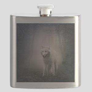 White Wolf Flask