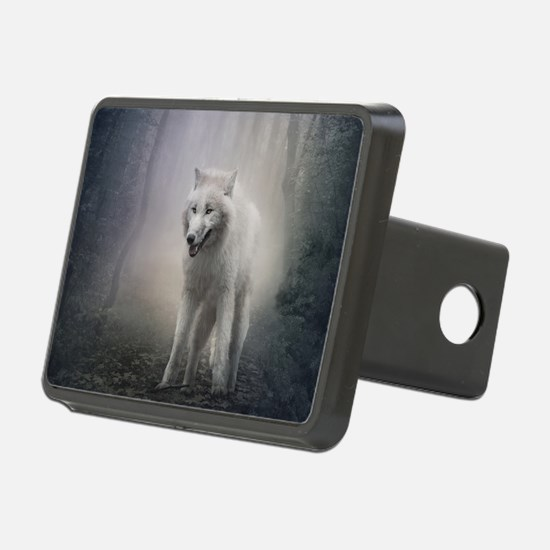 White Wolf Hitch Cover