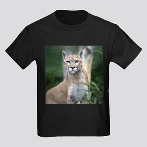 Mountain Lion Kids Dark T-Shirt