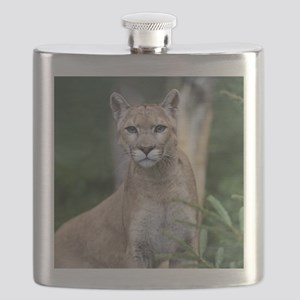 Mountain Lion Flask