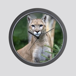 Mountain Lion Wall Clock