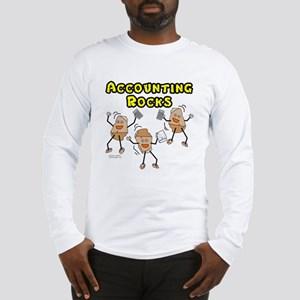Accounting Rocks Long Sleeve T-Shirt