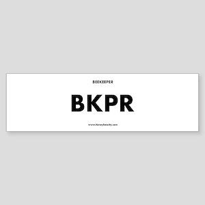 Beekeeper BKPR Sticker (Bumper)