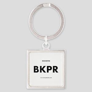 Beekeeper BKPR Square Keychain