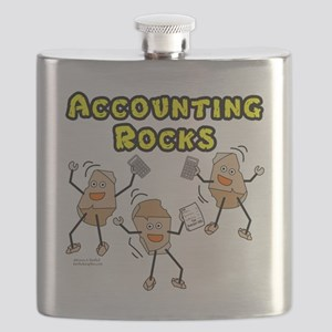 Accounting Rocks Flask