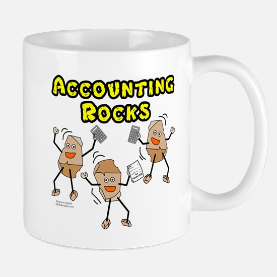 Accounting Rocks Mugs
