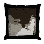 Abstract Shadow Patterns Throw Pillow