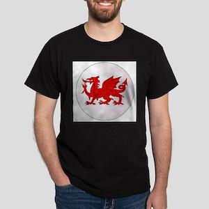 Welsh Dragon Button T-Shirt