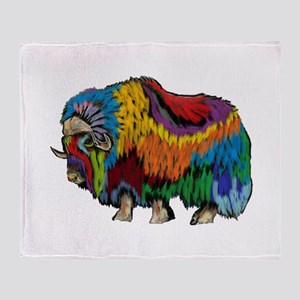 MUSOX Throw Blanket