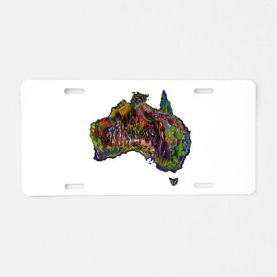 AUSSIE Aluminum License Plate