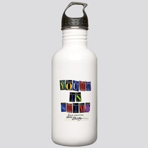 Yours In Crime Water Bottle