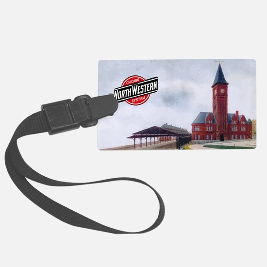 Cute Downtown Luggage Tag