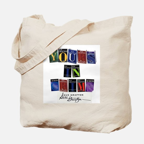 Yours In Crime Tote Bag