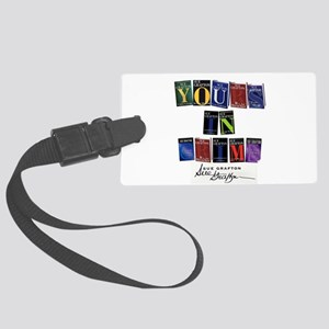 Yours In Crime Luggage Tag