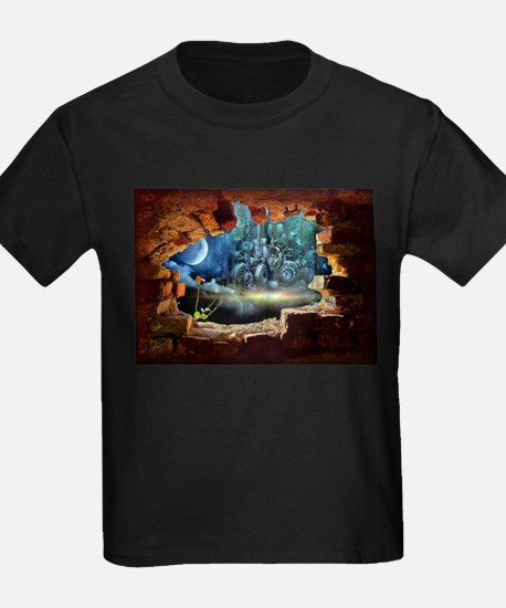 Hole in the Wall Graffiti T-Shirt