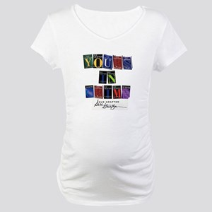 Yours In Crime Maternity T-Shirt