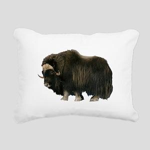 MUSKOX Rectangular Canvas Pillow