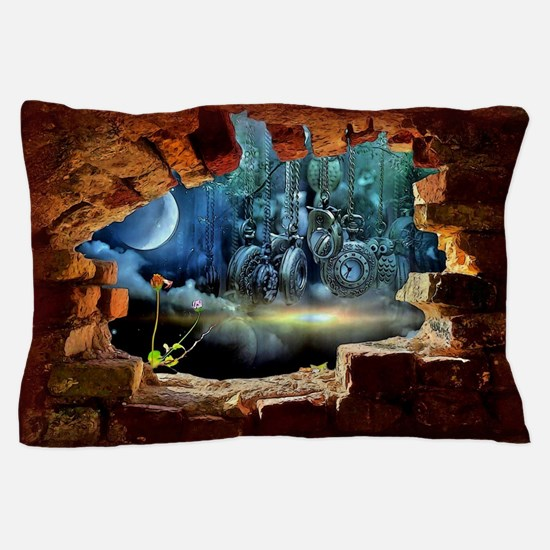 Hole in the Wall Graffiti Pillow Case