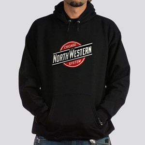 Chicago & Northwestern Angled Hoodie (dark)