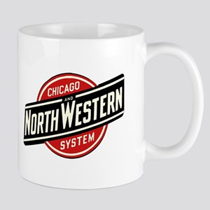 Chicago & Northwestern Angled Mugs