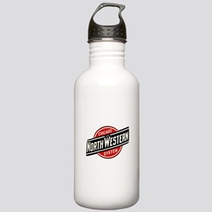 Chicago & Northwes Stainless Water Bottle 1.0L
