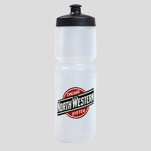 Chicago & Northwestern Angled Sports Bottle