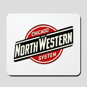 Chicago & Northwestern Angled Mousepad