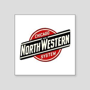 Chicago & Northwestern Angled Sticker