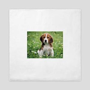Beagle Queen Duvet