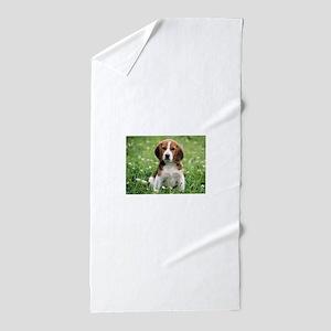 Beagle Beach Towel