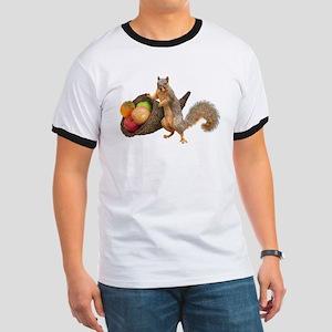Squirrel with Cornucopia T-Shirt