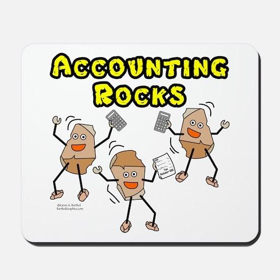 Accounting Rocks Mousepad