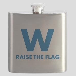 W Raise the Flag Flask