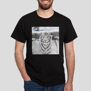 White Tiger Dark T-Shirt