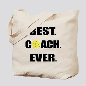 Pickleball Best Coach Ever Tote Bag