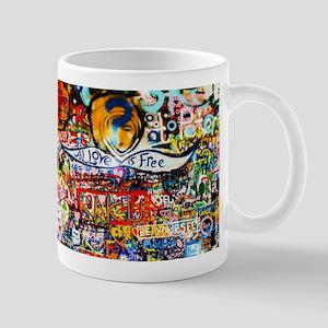All Love is Free Graffiti Mugs