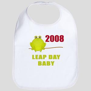 2008 Leap Year Baby Bib