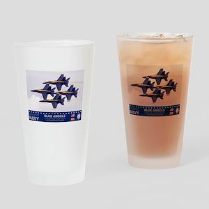 BLUE ANGEL'S F-18 HORNET Drinking Glass