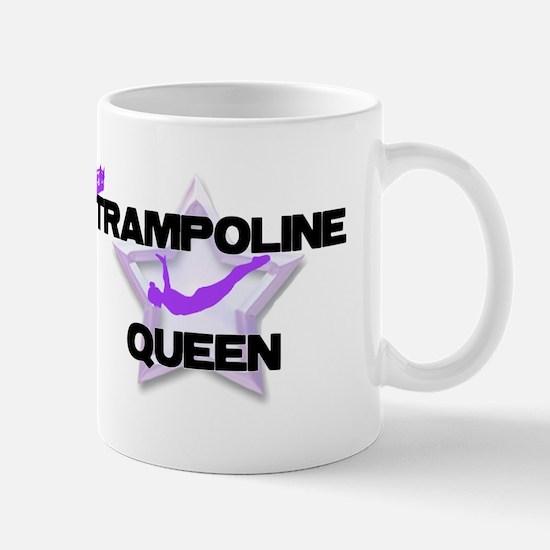 Trampoline Queen Gymnastics Mugs