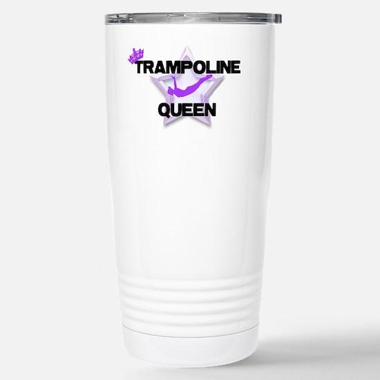 Trampoline Queen Gymnas Stainless Steel Travel Mug